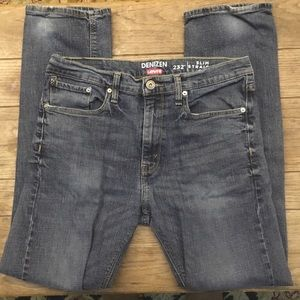 Levi's Denizen 232 Jean Slim Straight